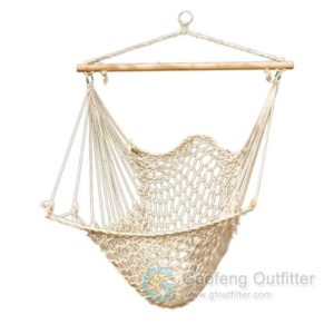 Hand Woven Cotton Rope Hanging Chair