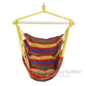 Stripe Cotton Hanging Hammock Swing Chair