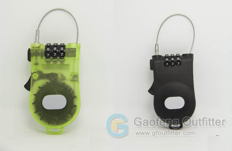 Travel cable lock guide - Travel Cable Lock Structure