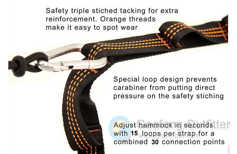 Adjustable Tree Straps For Hammock