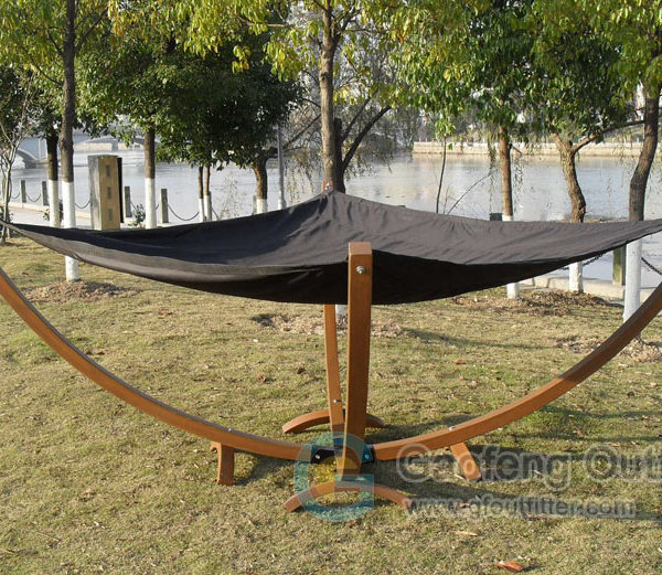Double Hammock With Stand For Camping