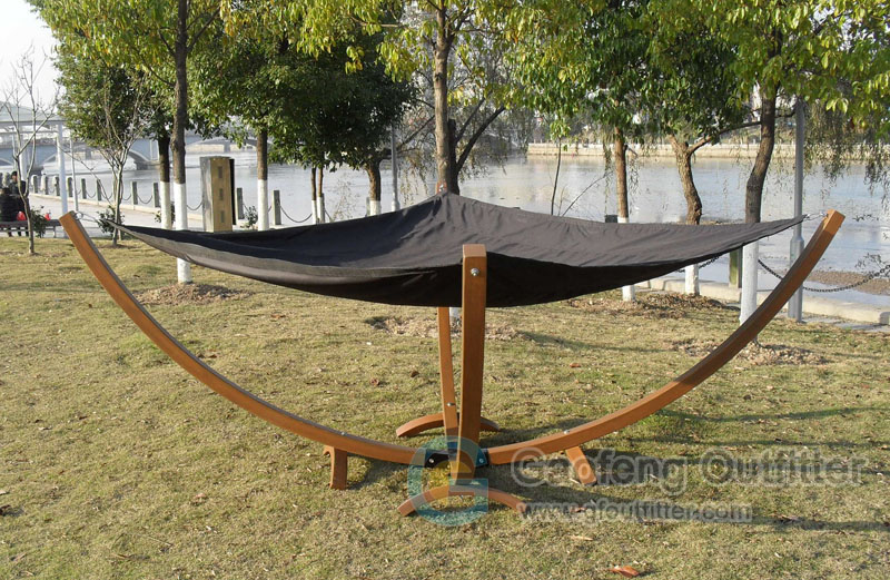 Tent Hammock For Two : Double hammock with stand for camping gaofeng outfitter