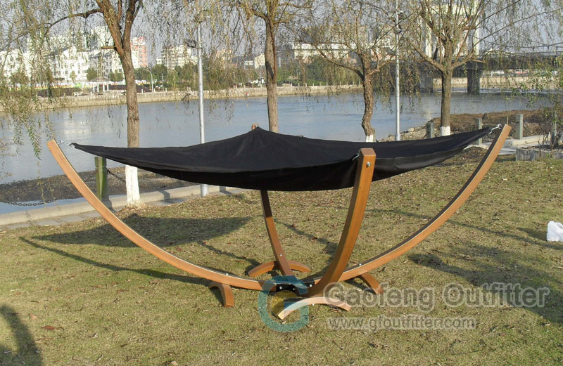High Quality Double Hammock With Stand