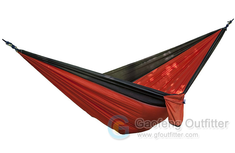 Nylon Fabric Outside Hammock For Camping