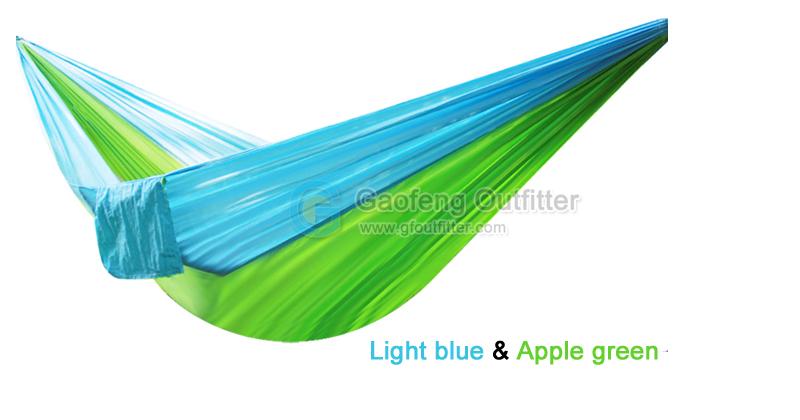 Light Blue and Apple Green Splicing Hammocks
