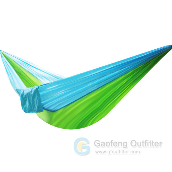 One Person Solid Colors Splicing Hammocks