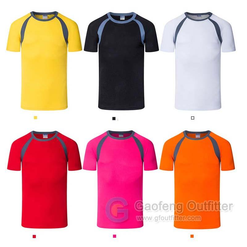 Mens Sports T Shirts Short Sleeve Training Tee Shirt