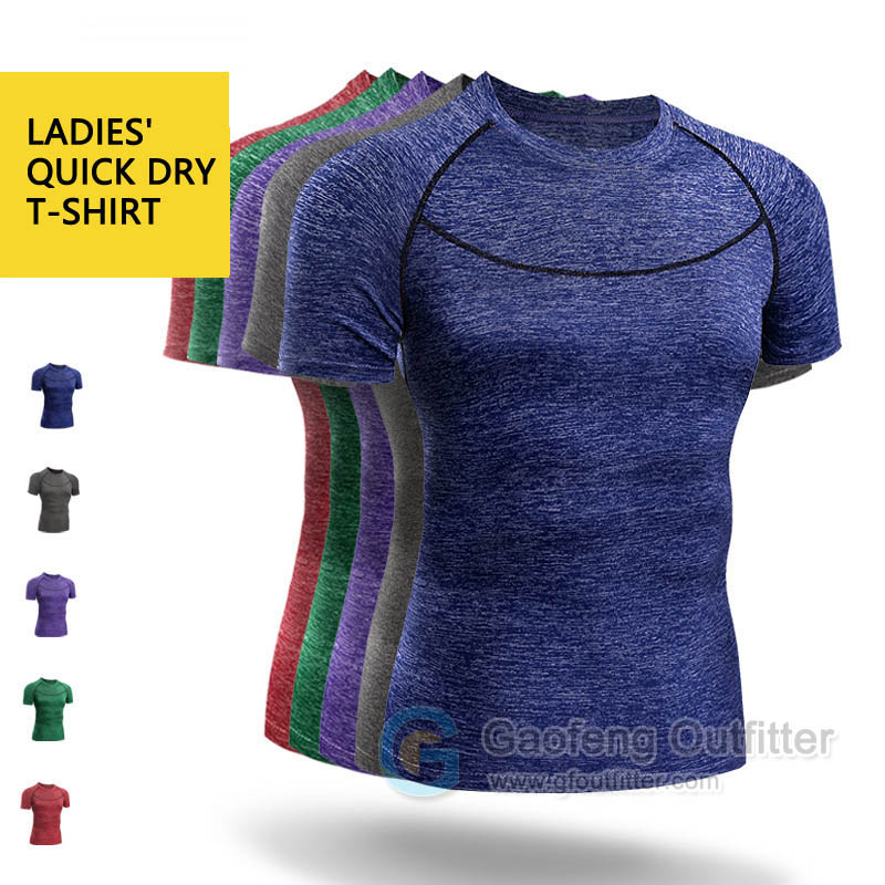 Cheap Ladies Quick Dry T Shirt Wholesale Gaofeng Outfitter